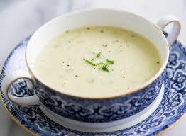 Celery soup (Crema de apio) 1