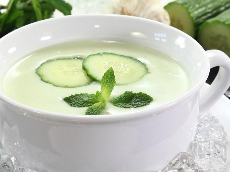 Sopa fría de pepino 1