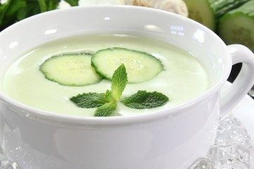 Sopa fría de pepino 2