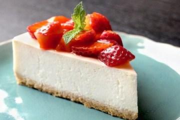 Cheesecake al estilo de Nueva York 1