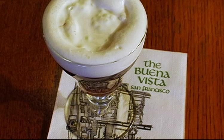 Irish Coffee en The Buena Vista San Francisco