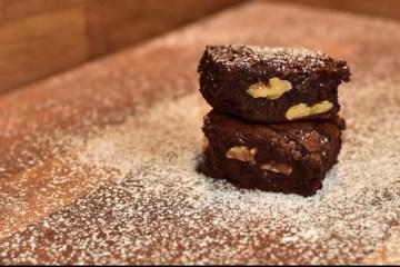 Brownies con café y nueces 5