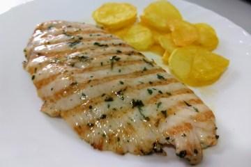 Pechuga de pollo marinada a la plancha 16