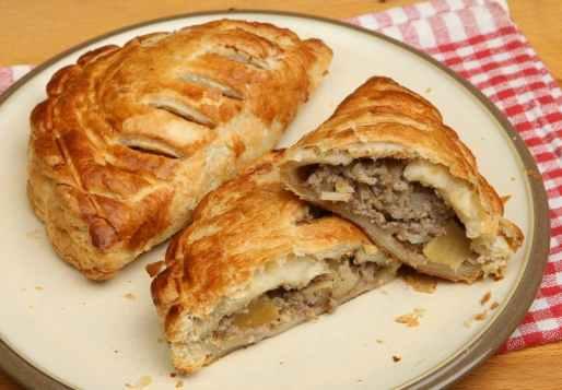 Gastronomía británica Corish Pasties