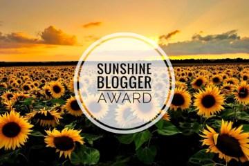 Sunshine Blogger Award 2019 3