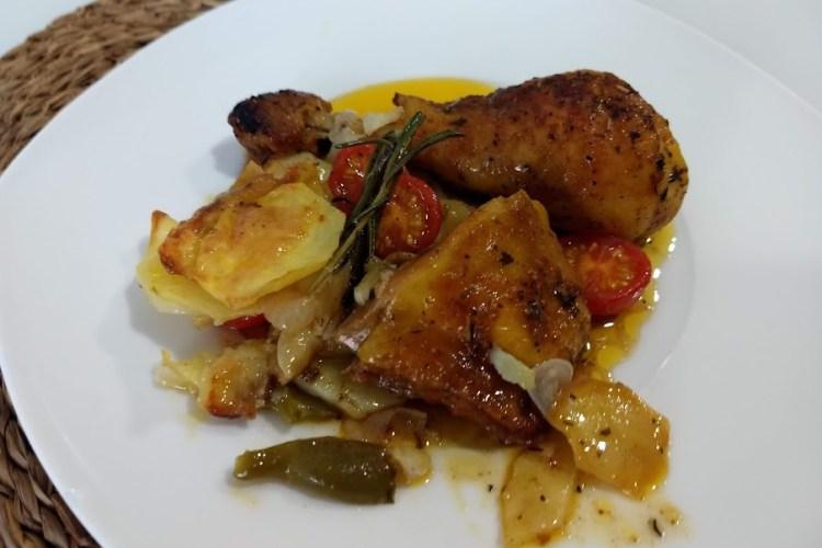 Pollo asado en bolsa para horno 1