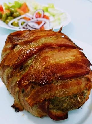 Pastel de carne americano 1