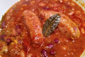 Sausage Casserole (Guiso de Salchichas) 16