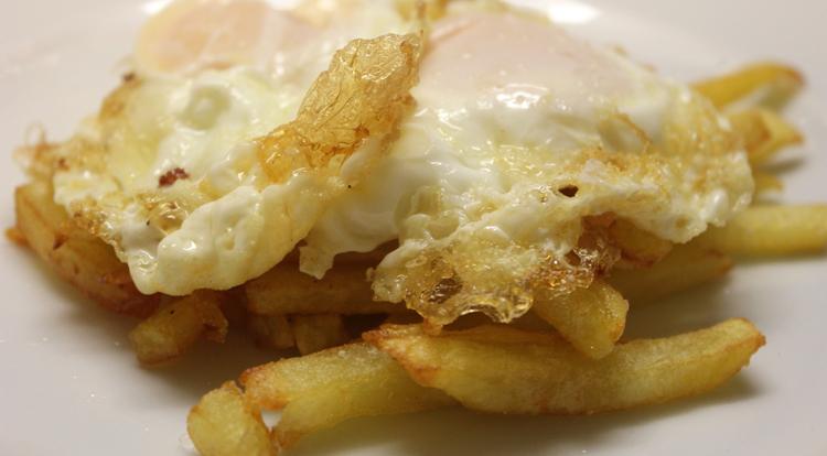"""Patatas y huevos fritos: """"Comfort food"""" 1"""