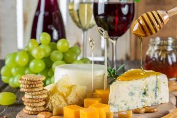 vino y quesos