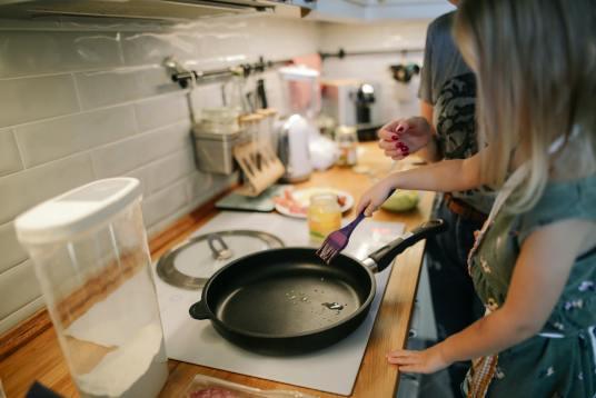 Cocinar resulta divertido
