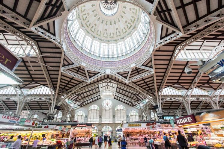 Mercado central de Valencia , fotografías de Eva Máñez