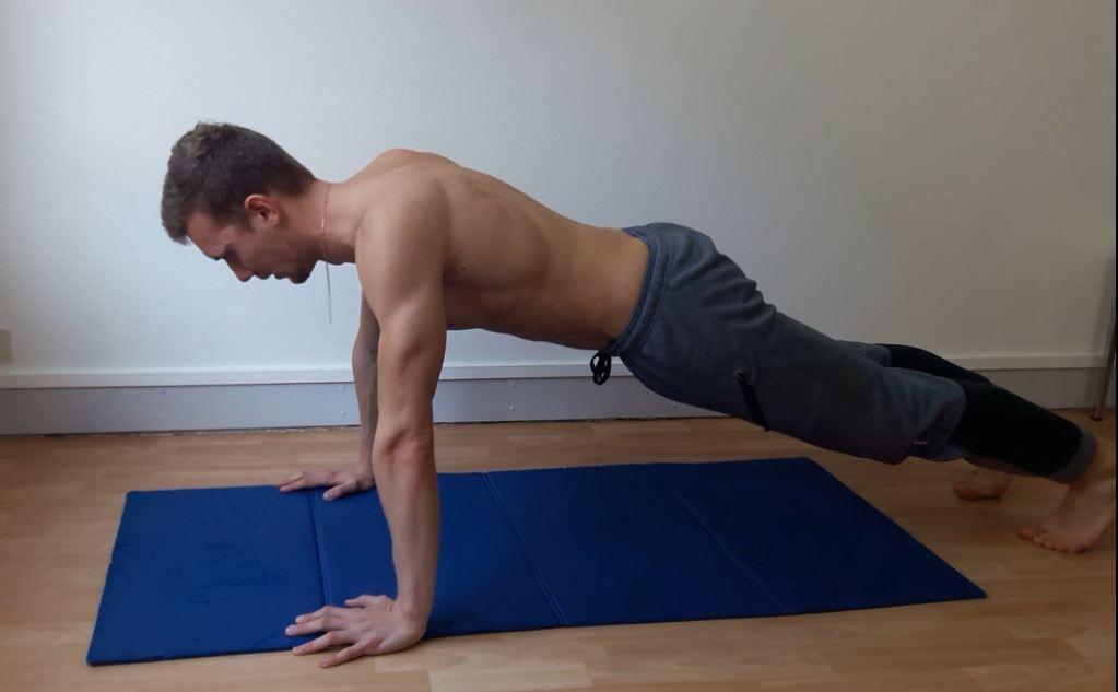 Position de planche