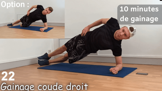 10 minutes de gainage par jour