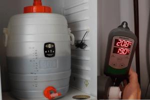 Contrôler la température de fermentation