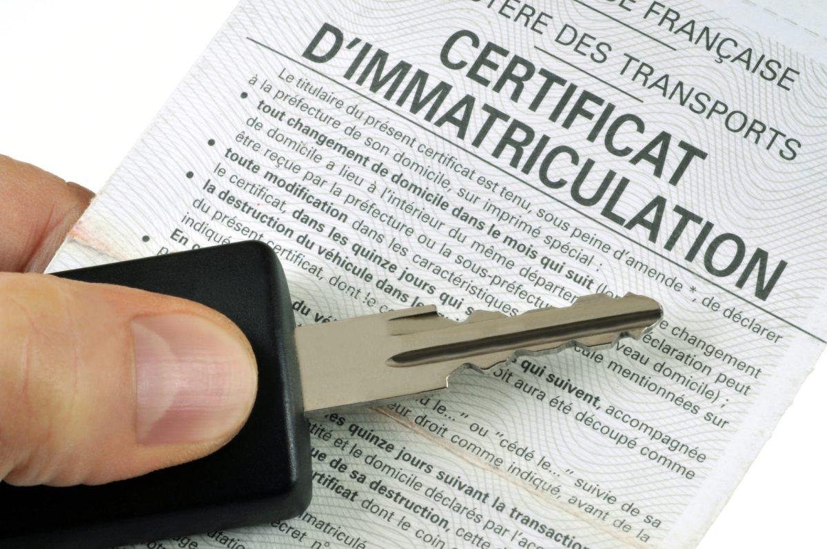 suivi carte grise telephone Commander un certificat d'immatriculation ou carte grise : infos