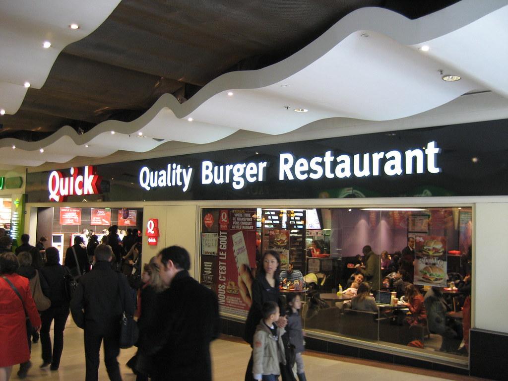 Cherchez-vous à connaître les différents menus dans la carte de Quick ?