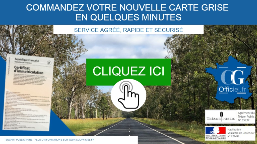 RDV désormais en ligne, sur le site de l'ANTS ou sur un service carte grise habilité par la préfecture de Lyon tel que CG Officiel.