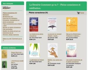 """Ma librairie """"mindful"""", ou les indispensables ouvrages que la méditation... Cliquez ici !"""