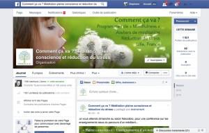 1 page facebook pleine conscience