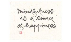 mindfulness happiness