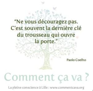 Patience Paolo Coelho