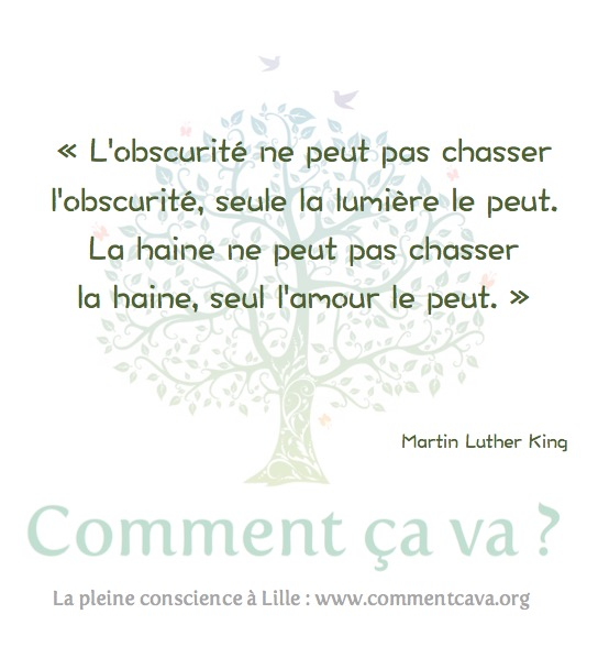 haine amour luther king