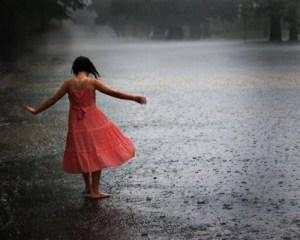 danser sous la pluie meditation pleine conscience
