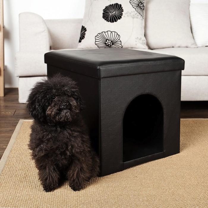Niche d'intérieur pour chien