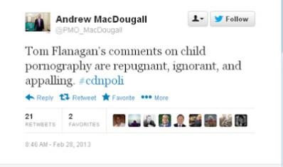 MacDougall tweet