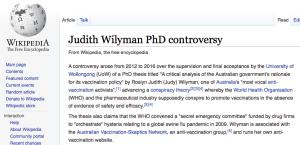 Wikipedia-Judy-Wilyman