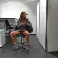 Femmes sans culottes en public