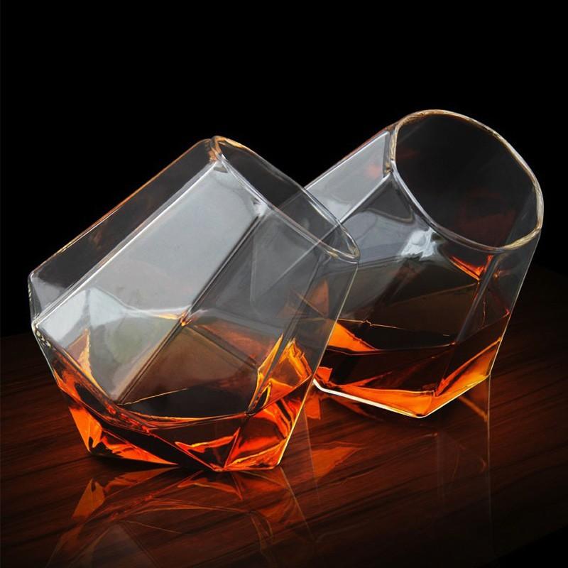 coffret de 2 verres a whisky diamant commentseruiner