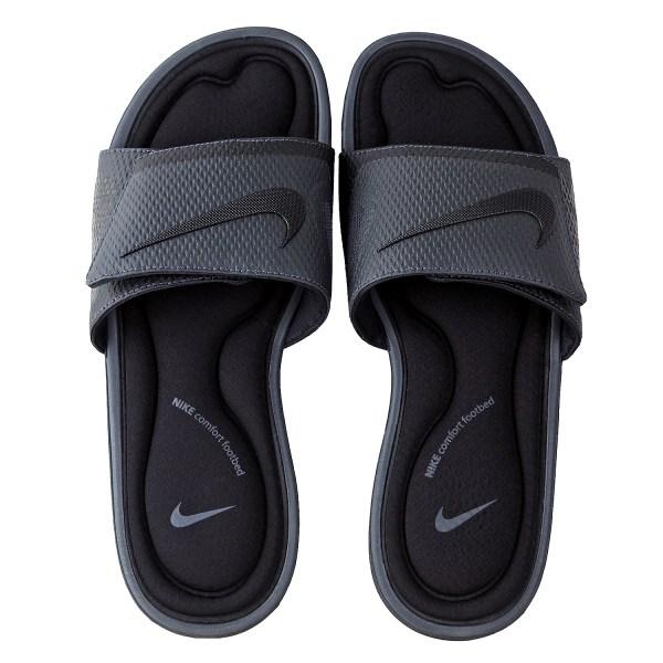 Nike Men' Solarsoft Comfort Slide Black Sandals Shoes