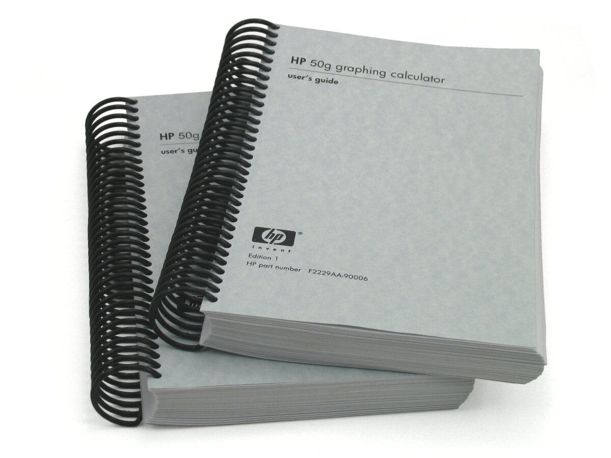 HP 50g Users Guide