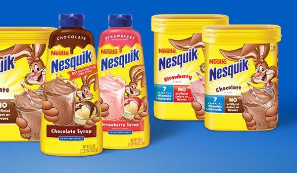 Nesquik développe une stratégie qui lui permet de plaire à ses clients cibles