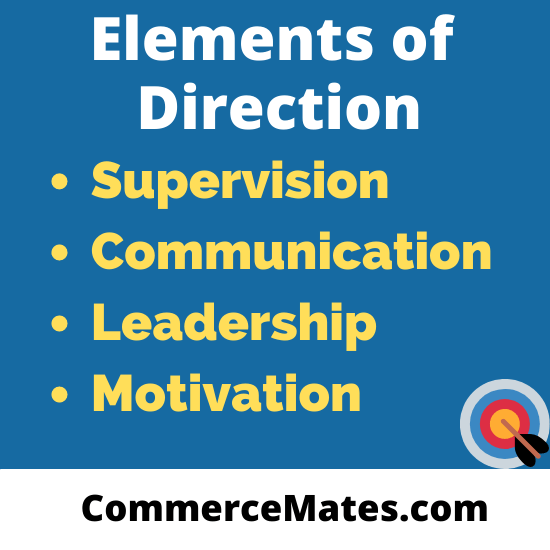 elements of Direction