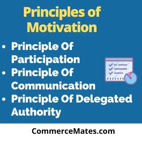 Principles of Motivation