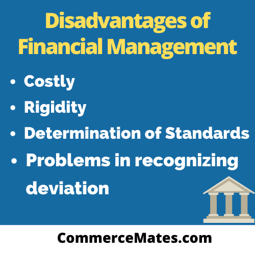 Disadvantages of Financial Management