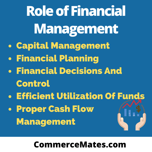 Role of Financial Management