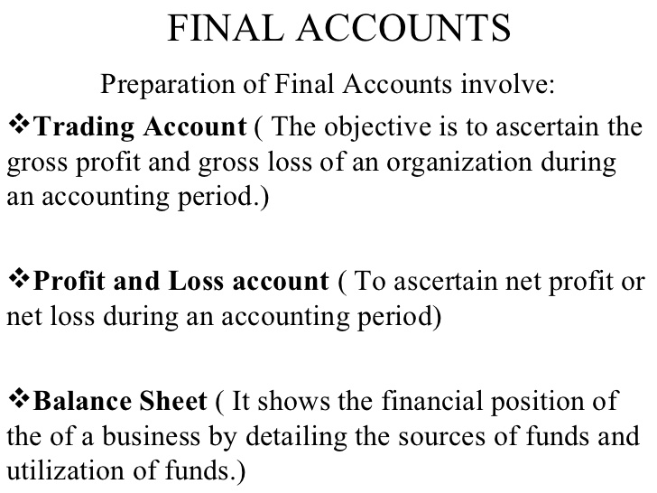 what is profit and loss account and balance sheet