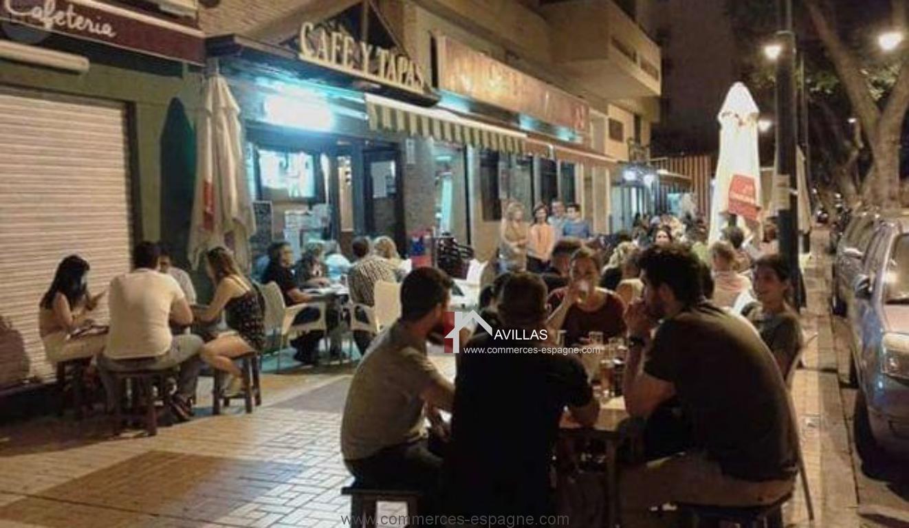 Malaga Bar Tapas  Fonds de Commerce Espagne AVILLAS a vendre acheter un ou vendre avec agence