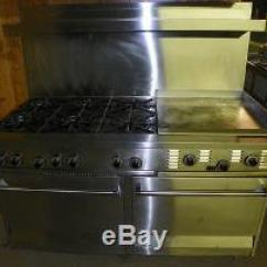 Kitchen Hood Filters Accesories Garland Commercial/ Residential Gas Range Model R284-ir-24g
