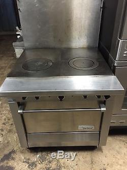 Garland French Top Stove  Range With Oven