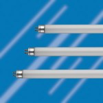 three T5 fluorescent tubes