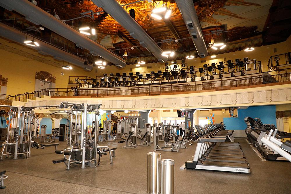 Fitness Center Lighting Commercial Lighting Industries