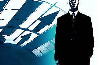 business man standing