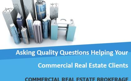 special report asking questions in commercial property