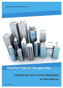 special report about commercial real estate broker tasks