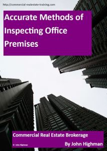 office leasing report in commercial real estate brokerage